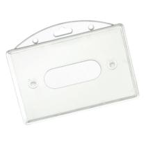 Kartenhalter für Schlüsselbänder (86 mm x 54 mm)