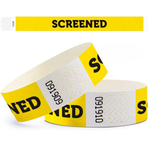 "Identifikationsarmband ""SCREENED"""