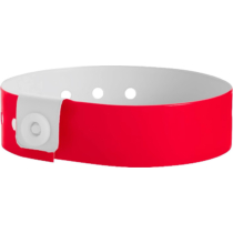 Plastikband L-form, rot (19 mm)