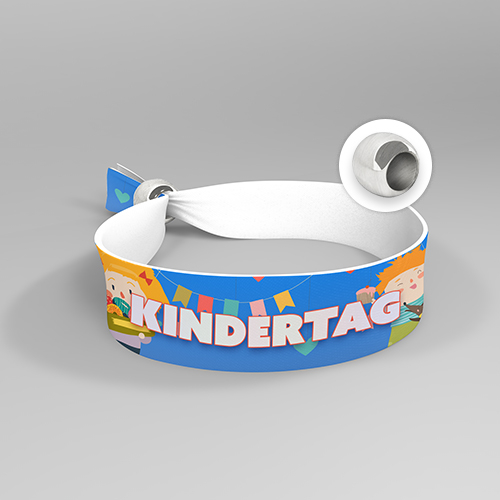 Festivalband mit Aluperle (15 mm)