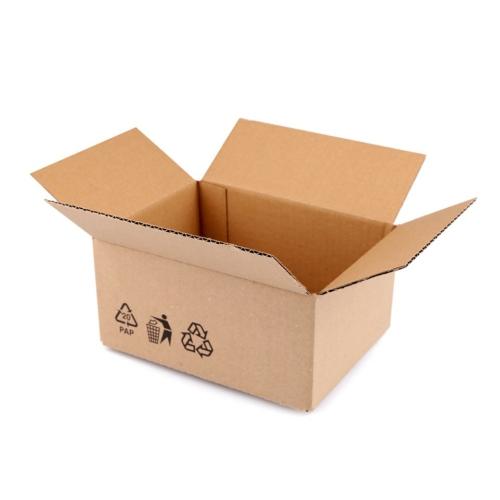 Geschenkbox natur 30.5 cm x 22.5 cm x 14.5 cm
